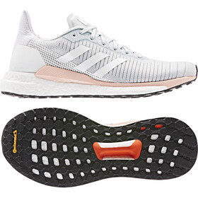 adidas Solar Glide 19 Low-cut Kengät Naiset, blue tint/footwear white/glossy pink